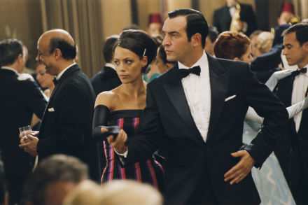 Jean Dujardin and Berenice Berdine in OSS 117: Cairo, Nest of Spies (courtesy of Music Box Films)